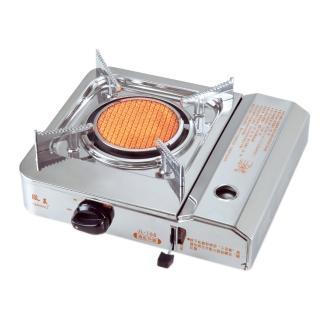 台灣製造遠紅外線可拆式卡式白鐵休閒爐JL-168(贈攜帶式外盒-12H)