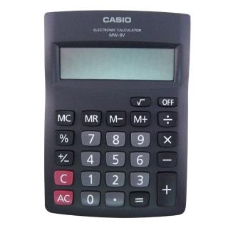 【卡西歐CASIO】國家考試桌上型計算機/8位元/MW-8V