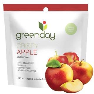【Greenday】蘋果凍乾12g(泰國必買超人氣水果乾)