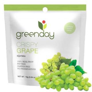 【Greenday】葡萄凍乾18g(泰國必買超人氣水果乾)