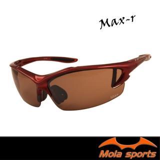 【Mola Sports】MAX_R(時尚墨鏡擊防塵抗UV護目鏡 防護眼鏡騎行擋風)