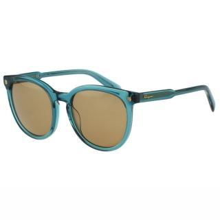 【Salvatore Ferragamo】- 時尚太陽眼鏡(綠色)