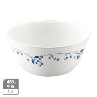 【美國康寧 CORELLE】古典藍450ml中式碗(426)