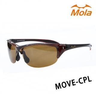 【Mola Sports】MOVE-CPL(時尚墨鏡擊防塵抗UV護目鏡 防護眼鏡騎行擋風)