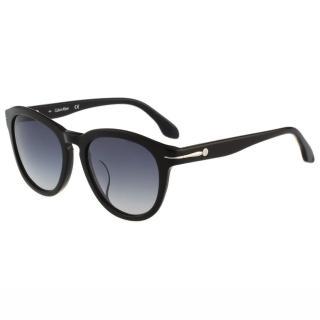 【Calvin Klein】- 復古太陽眼鏡(黑色)