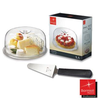 【Bormioli Rocco】義大利奇諾拉蛋糕盤(送不銹鋼蛋糕鏟)