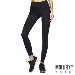 【Mollifix瑪莉菲絲】MoveFree 掰掰馬鞍動塑褲(黑)