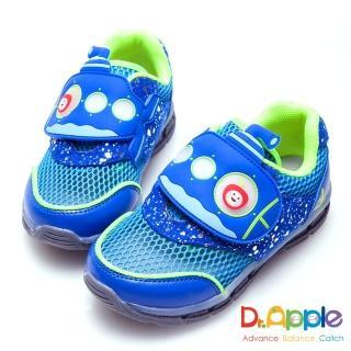 【Dr. Apple 機能童鞋】蘋果潛水艇海底冒險發光童鞋(藍)