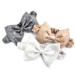【RABBIT DUKE】個性可愛滿分大蝴蝶結質感髮帶/髮箍