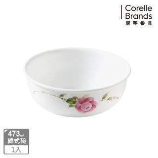【美國康寧 CORELLE】田園玫瑰473ml韓式湯碗(416)