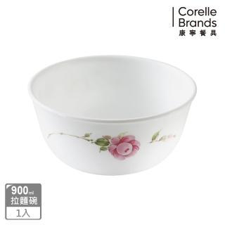 【美國康寧 CORELLE】田園玫瑰900ml拉麵碗(428)