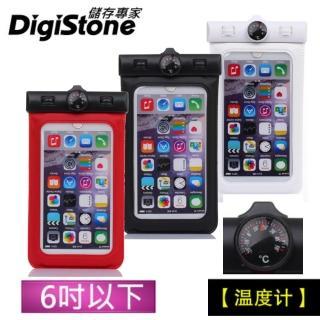 【DigiStone】可觸控手機防水袋 溫度計(通用6吋以下手機)