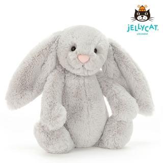 【英國 JELLYCAT】經典31公分兔子(Silver)