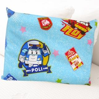 【HO KANG】經典卡通 100%天然幼童乳膠枕(米奇米妮 約會粉)