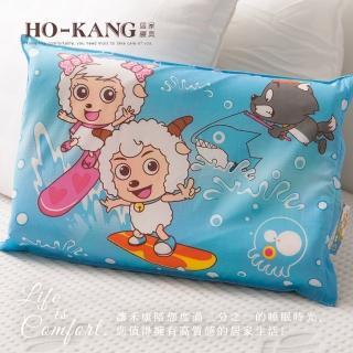 【HO KANG】經典卡通 100%天然幼童乳膠枕(SY衝浪)