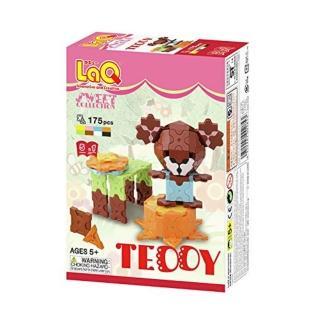 【LaQ甜心女孩】迷你客泰迪熊(日本LaQ立體拼圖)