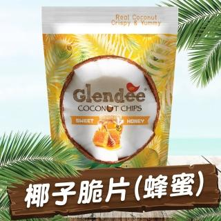 【Glendee】椰子脆片40g蜂蜜口味(泰國椰子脆片系列)