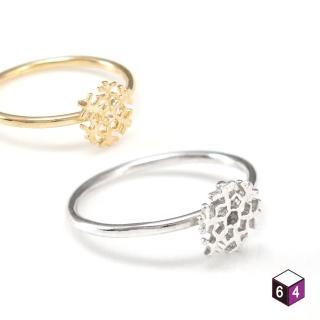 【ART64】戒指 冰雪奇緣 925純銀戒指 2色可選