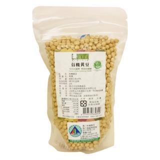 【美好人生】有機黃豆(400g/袋)