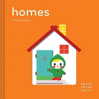 【Song Baby】Touch Think Learn:Homes 住家(厚紙硬頁認知書)