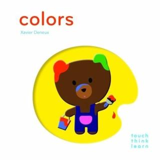 【Song Baby】Touch Think Learn:Colors 色彩(厚紙硬頁認知書)