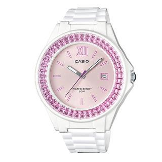 【CASIO】繽紛亮眼時尚腕錶(LX-500H-4E)
