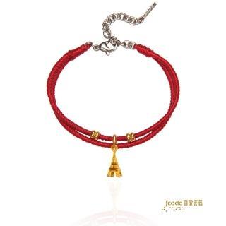 【J'code 真愛密碼】牡羊座-艾菲爾鐵塔編織手鍊(瑪法達星座幸運物)