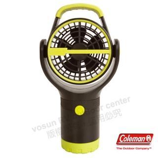 【美國 Coleman】BATTERYLOCK杯架風扇.小電扇.移動便攜式風扇(CM-27313 萊姆綠)