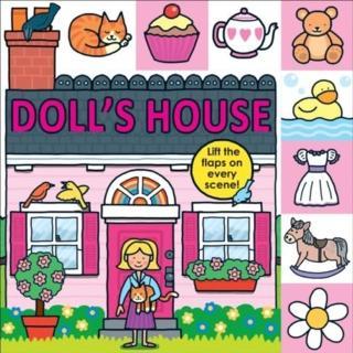 【Song Baby】Lift-The-Flap Tab:Doll's House 娃娃屋(硬頁翻翻操作書)