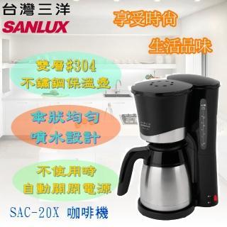 【台灣三洋 SANLUX】美式咖啡機(SAC-20X)