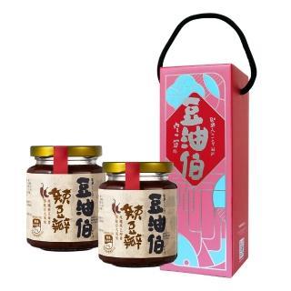 【豆油伯】辣豆瓣醬280gx2入(使用非基因改造原豆釀造絕非脫脂黃豆)