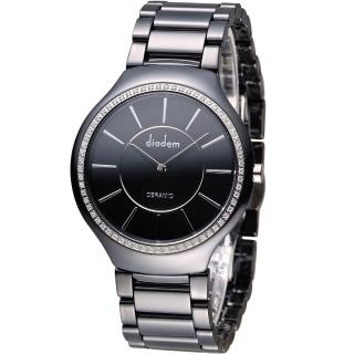 【Diadem 黛亞登】陶瓷簡約時尚腕錶(8D1601-611DD-D)