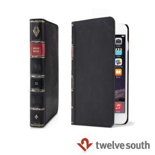 【Twelve South】BookBook iPhone6/6s 復古書仿舊皮革保護套(黑色)