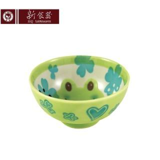 【新食器】本製綠蛙兒童飯碗(兒童餐具)