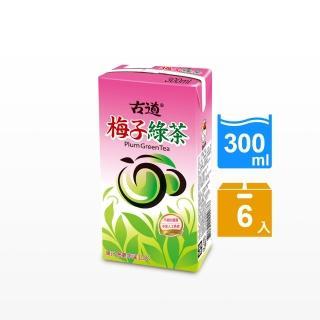 【古道】梅子綠茶300ml*6瓶