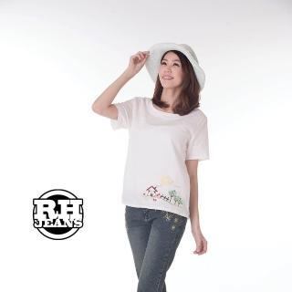 【雪莉亞】上衣(田園風刺繡鄉春風情短版上衣)