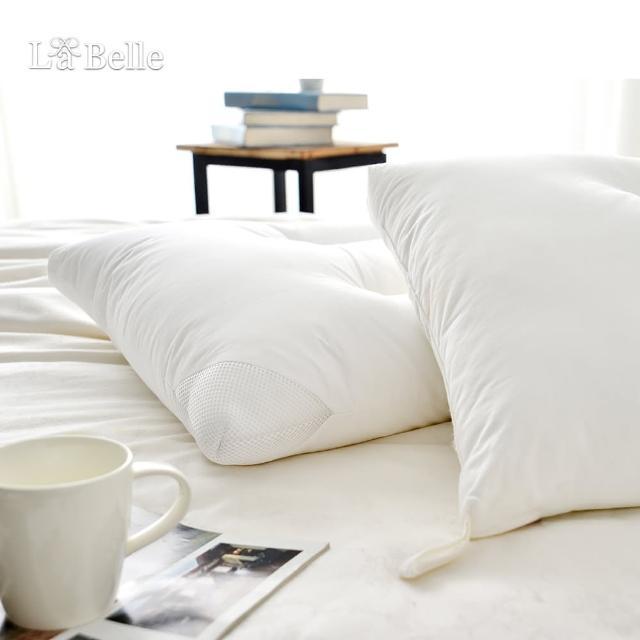 【義大利La Belle】《高效透氣抑菌水洗枕》(一入)
