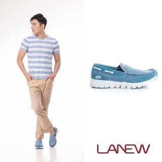 【La new】DCS輕便鞋 輕量休閒鞋 懶人鞋(男222612271)