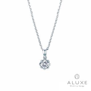 【A-LUXE 亞立詩】Happiness 8分美鑽項鍊