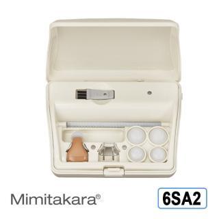 【元健大和助聽器-未滅菌-日本耳寶】單耳充電式助聽器-耳內型 6SA2(具B款補助資格)
