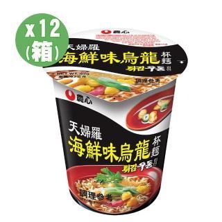 【NONG SHIM】農心 婦羅海鮮烏龍杯麵(62gx12入)