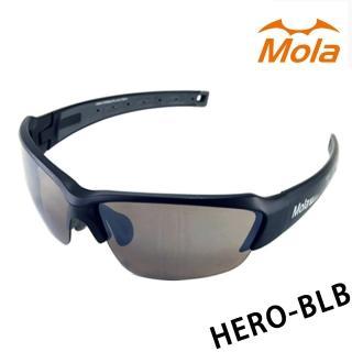 【MOLA SPORTS】摩拉運動太陽眼鏡 hero-blb(自行車/高爾夫/跑步運動太陽眼鏡)
