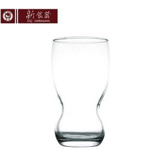 【新食器】波時尚玻璃水杯365ML(3入組)