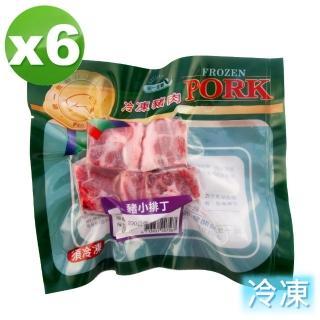 【統一生機】豬小排丁6件組(200g/包/共6包)