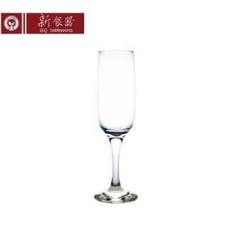 【新食器】Romantic玻璃香檳杯215 ML(3入組)