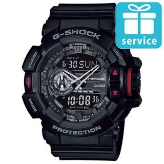 【CASIO】G-SHOCK玩色領域撞色運動錶(GA-400-1B)