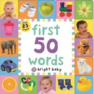 【Song Baby】Lift-The-Flap Tab:First 50 Words 50個字一次就上手(硬頁翻翻操作書)
