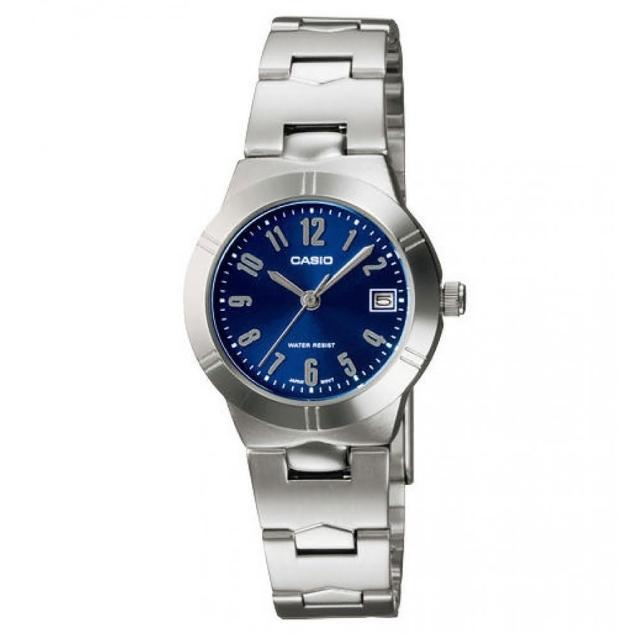 【CASIO】都會流行氣質腕錶(LTP-1241D-2A2)