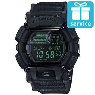 【CASIO】G-SHOCK 人氣霧面跳色街頭造型錶(GD-400MB-1)
