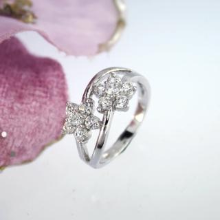 【xmono】花兒開晶鑽戒指   xmono